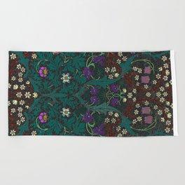Blackthorn - William Morris Beach Towel