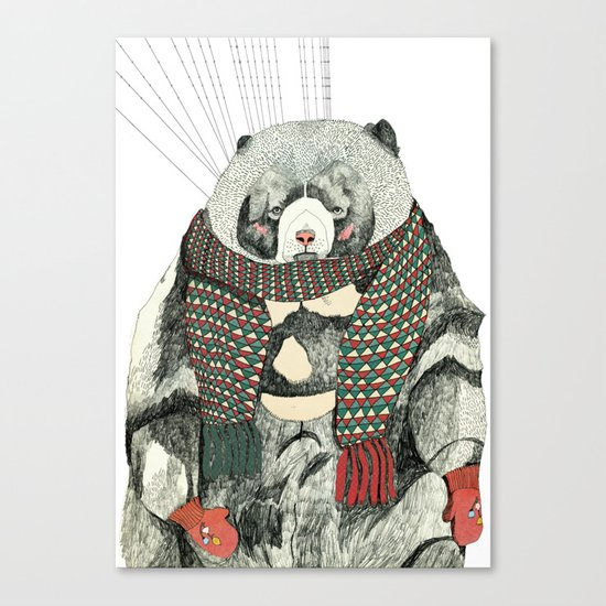 Woolly Bear Canvas Print