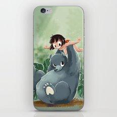 Mowgli and Baloo iPhone & iPod Skin