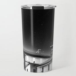 Castles at Night (B&W) Travel Mug