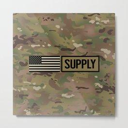 Supply (Camo) Metal Print