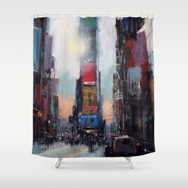The Times They Are A Changing Shower Curtain