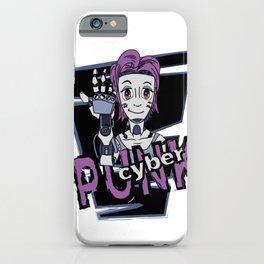 Cyberpunk Girl iPhone Case