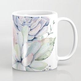 Succulent Blooms Coffee Mug