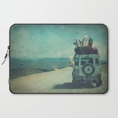 NEVER STOP EXPLORING II Laptop Sleeve