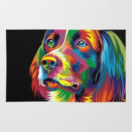 COLORFUL DOG Rug