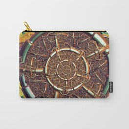Golden metal abstract Carry-All Pouch