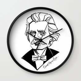 Edvard Grieg Wall Clock