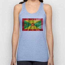 Grenada Flag Unisex Tank Top