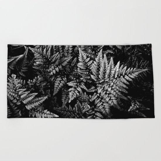 Forest Ferns Beach Towel