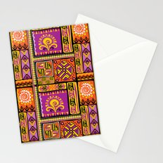 Ornamental African Pattern Stationery Cards