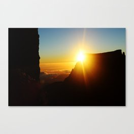 A new light a new day Canvas Print
