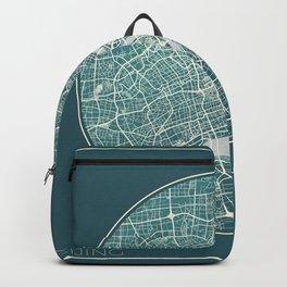 Beijing Map Planet Backpack