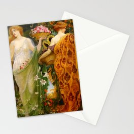 "Walter Crane ""A Masque for the Four Seasons"" Stationery Cards"