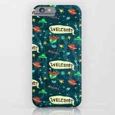Alien pattern iPhone 6s Slim Case