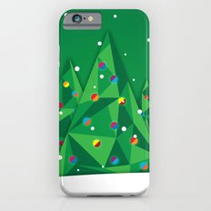 Vector Christmas Tree iPhone 6s Slim Case