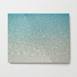 Crystal Clear Metal Print