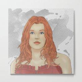 Abaddon (Josie version) Metal Print