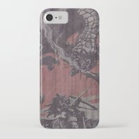 fight iPhone & iPod Cases featuring Fight by Last Call