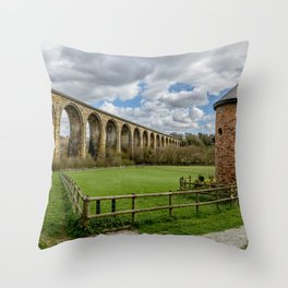Ty Mawr Country Park Throw Pillow