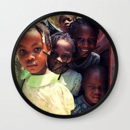 Haiti.  Wall Clock