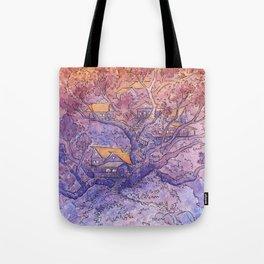 Enchanted Treehouse Tote Bag