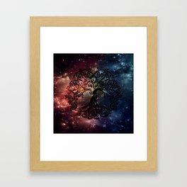 Viking Tree of life Framed Art Print
