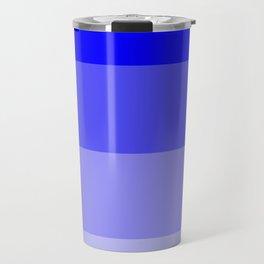 Dark Blue Ombre Coloured Travel Mug