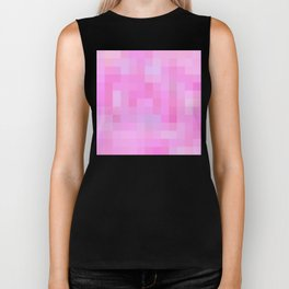 Re-Created Colored Squares No. 19 by Robert S. Lee Biker Tank
