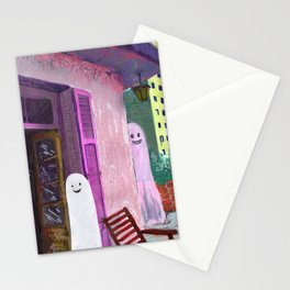 ghost house Stationery Cards