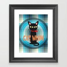 Blue Whim Framed Art Print
