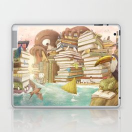 The Library Islands Laptop & iPad Skin