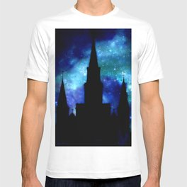 Religious Space : Galaxy Cathedral T-shirt