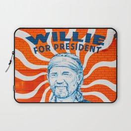 Willie For President Laptop Sleeve