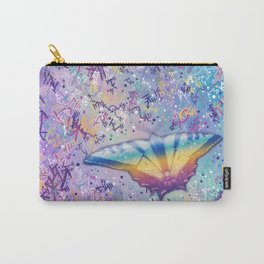 Vibrant Little Butterfly Carry-All Pouch