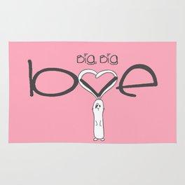 Big, big LOVE Rug