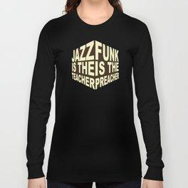 Jazz Funk Cube Long Sleeve T-shirt