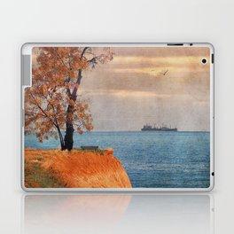 Autumn by the sea Laptop & iPad Skin
