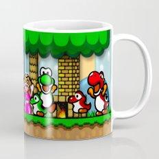 Super Mario World Happy Ending Coffee Mug