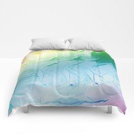 Three Lady Lips Sweet Rainbow Comforters