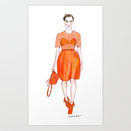 Mulberry AW 2012 Art Print