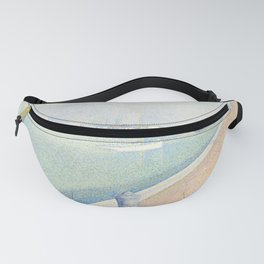 Georges Seurat - The Channel of Gravelines Fanny Pack