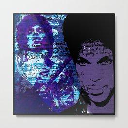 Prince - All of my purple life Metal Print