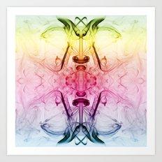 Smoke Art 9 Art Print