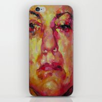 no face iPhone & iPod Skins featuring Face by Kristie Holiday