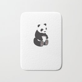 Cute Panda For Girl Best Gift Cute Love Bath Mat
