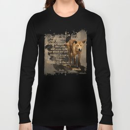 DINGO IN THE WILD Long Sleeve T-shirt