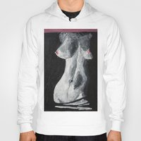 erotic Hoodies featuring Erotic by Bazarovart