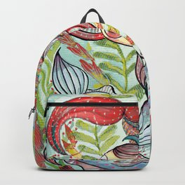 Dancing Fishes Backpack