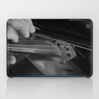 violin iPad Cases featuring Violin by SwanniePhotoArt